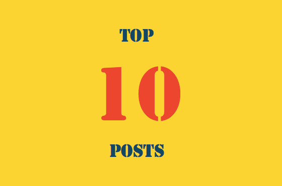 Top 10 recent posts
