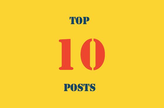 Top 10 recent posts